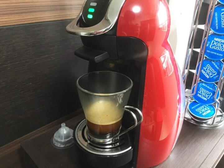 ドルチェグストで淹れたコーヒー