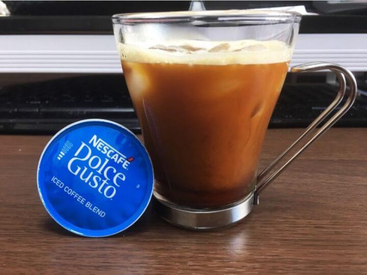 ドルチェグストでアイスコーヒー